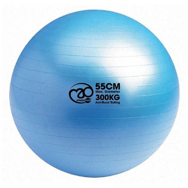 Fitness-Mad 300Kg Burst Resistance Swiss Ball, Blue