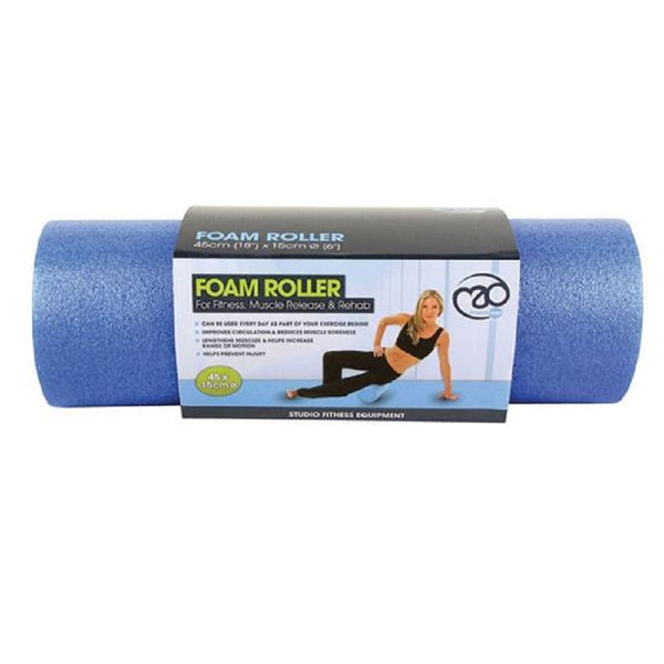 Fitness Mad Foam Roller - Blue, 45 cm