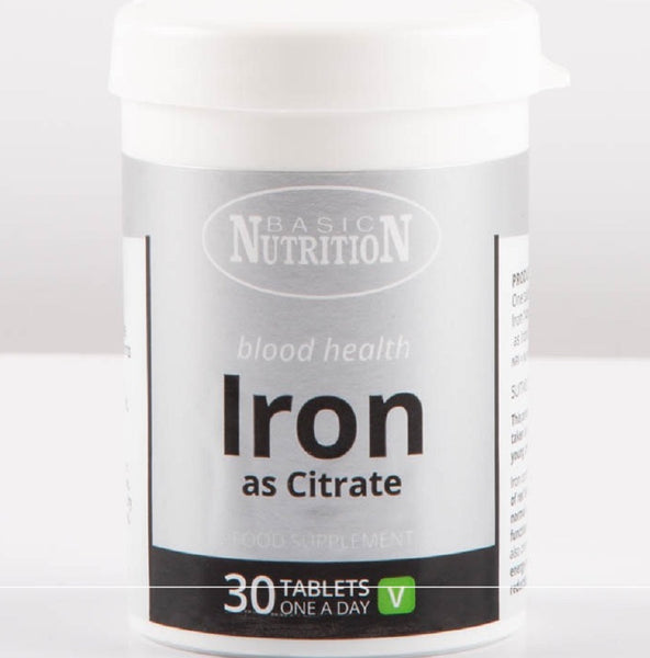 Basic Nutrition Iron Tablets for blood health