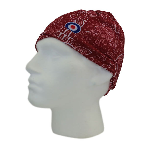 BawBags Paisley Wizard Sleeve - beanie, facemask, neck warmer, headband