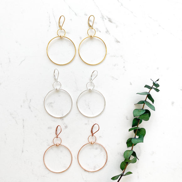 Duo Dot Hoop