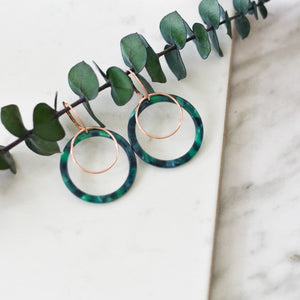 Duo Hoop Statement Earrings