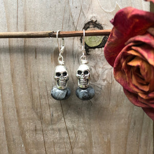 Spooky Skeleton Earrings