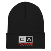 EMBROIDERED CUFFED BEANIE - CalSwag|Limited