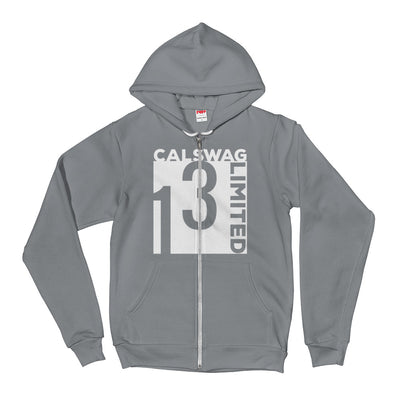 LIMITED ZIP-UP HOODIE - CalSwag|Limited