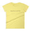 SUPERIOR WOMEN'S SHORT SLEEVE T-SHIRT - CalSwag|Limited