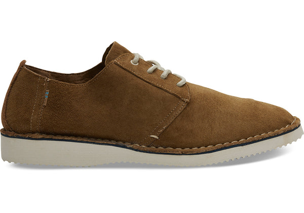 La Boutique Toms Preston Suede Stitch Out Dress Shoes