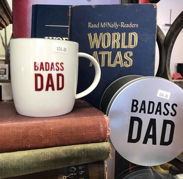 Badass Dad Cup in Tin Set 14237