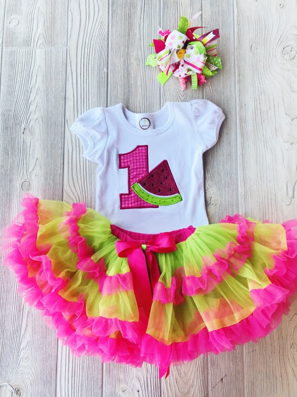 Summer Birthday Outfit - First Birthday