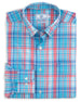 Southern Tide Long Sleeve Bellevue Plaid Intercoastal Performance Shirt