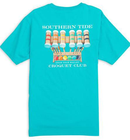 Southern Tide Croquet Club Tee Short Sleeve