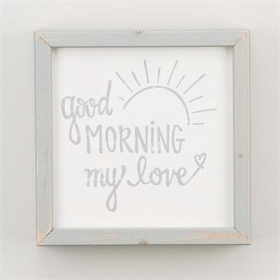 Good Morning My Love Decor