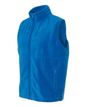 Twin Rivers Royals Solid Color Fleece Vest