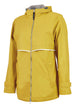 Charles River Rain Jacket w/ Monogram- Fall Colors Buttercup