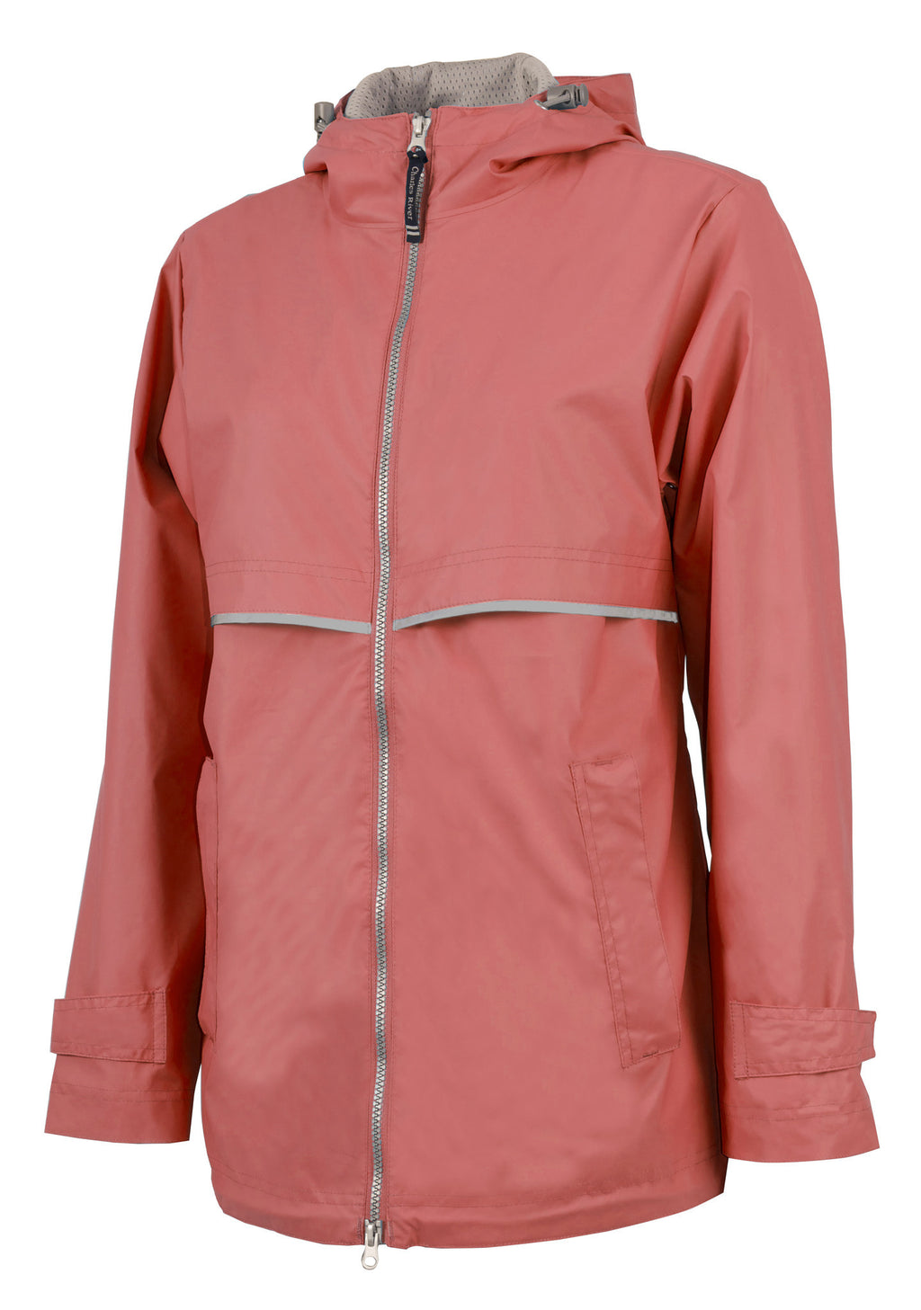Charles River Rain Jacket w/ Monogram- Spring Colors