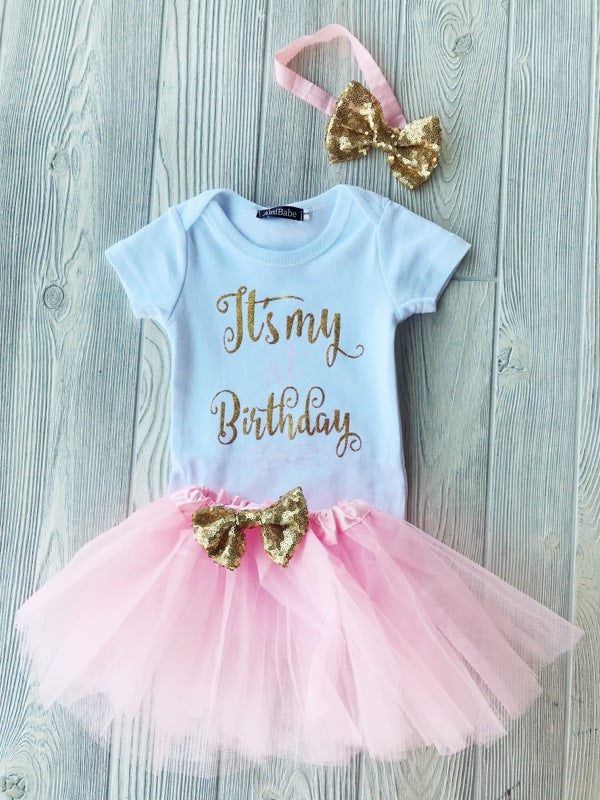 It's My Birthday Tutu Outfit