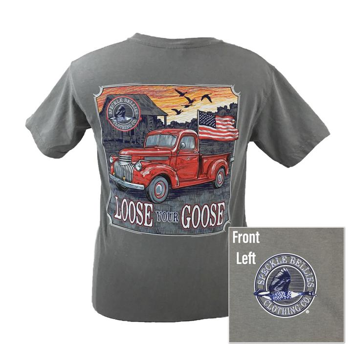 Speckle Bellies Co. Loose Your Goose Tee