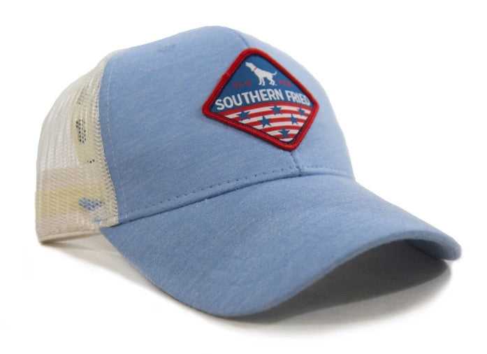 Southern Fried Cotton American Patch Hat