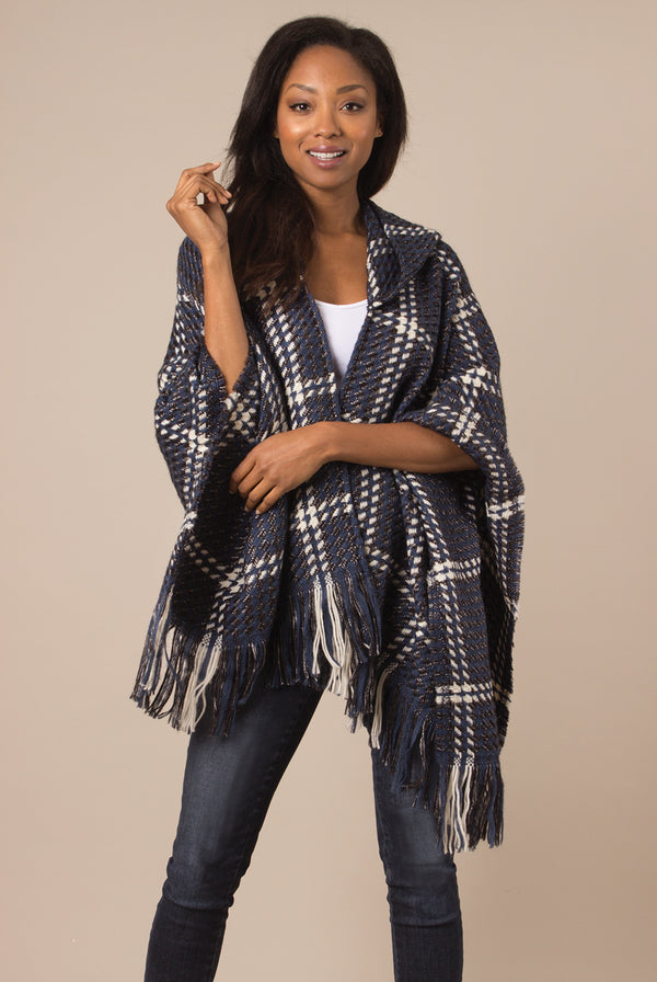 Simply Noelle Check Me Out Hooded Wrap