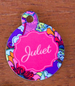 Pet Tags w/ Personalization (Florida Collection) round