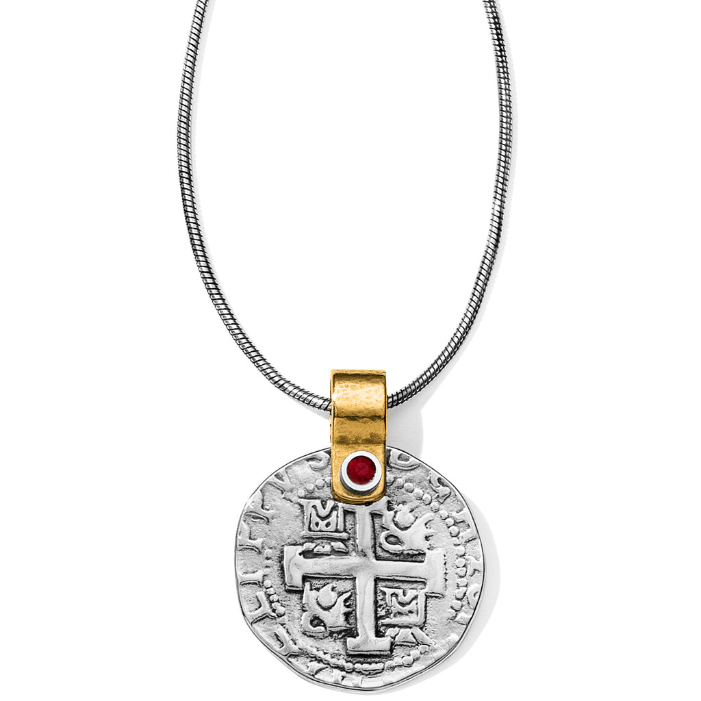 Brighton Collectibles Doubloon Necklace