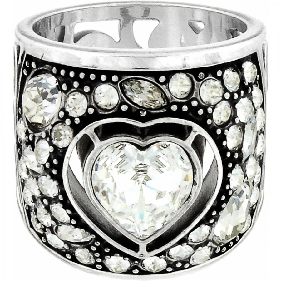 Brighton Collectibles Ecstatic Heart Ring J62043