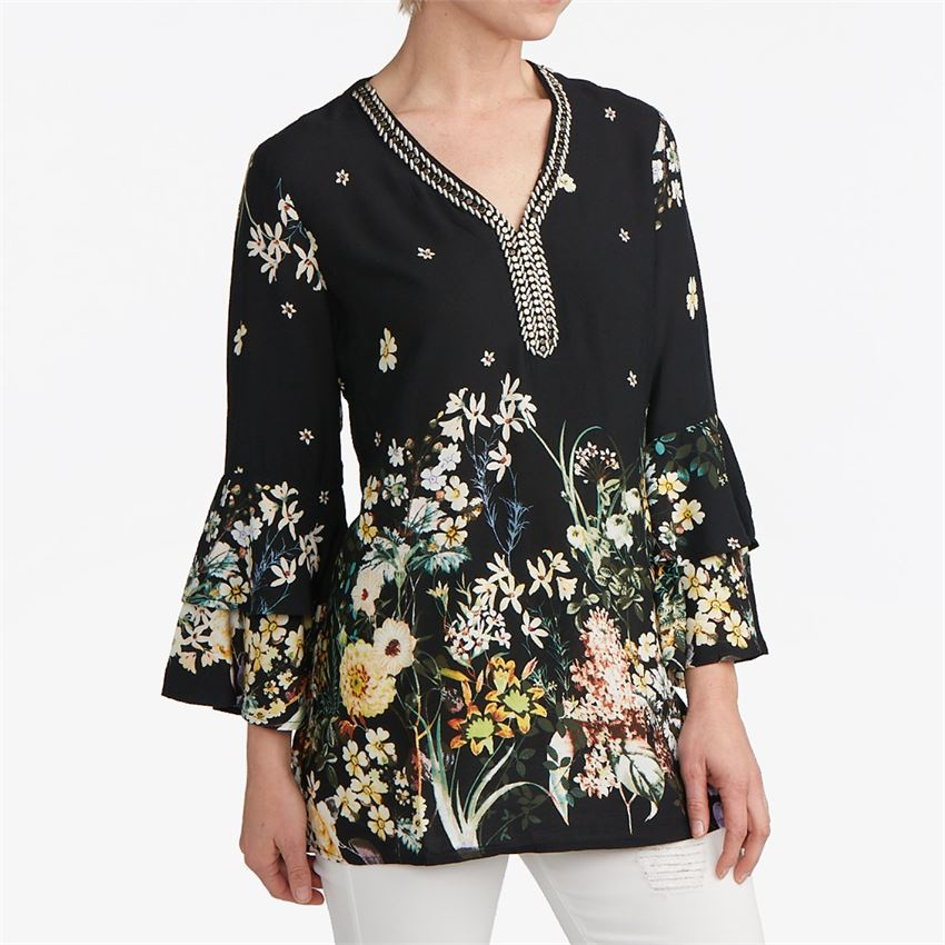 Coco + Carmen Elina Beaded Tunic
