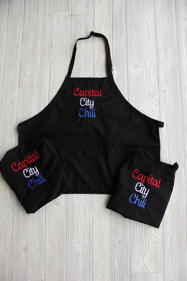 Embroidered Apron-Personalized Name or Business