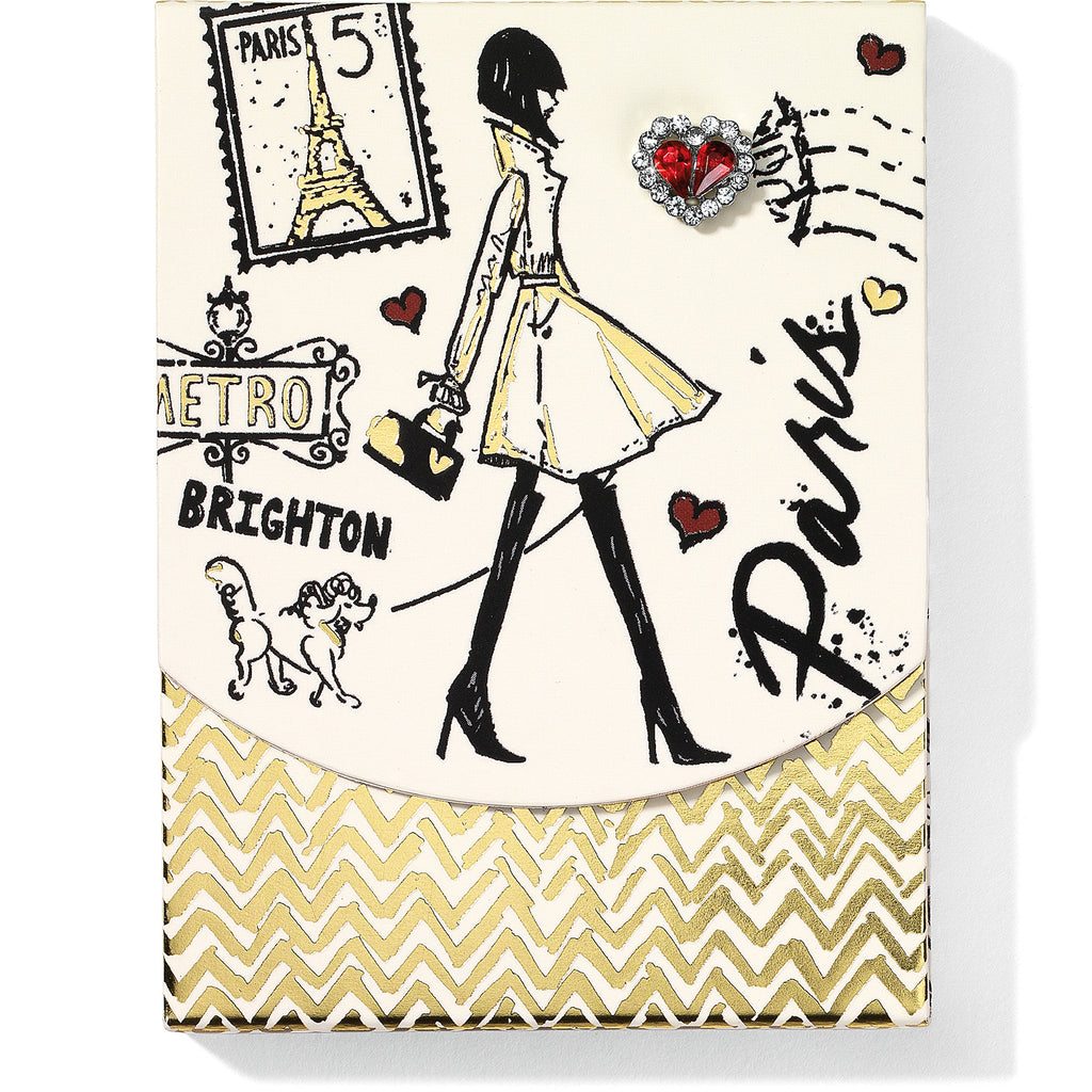 Brighton Collectibles Fashion Passport Pocket Notepad