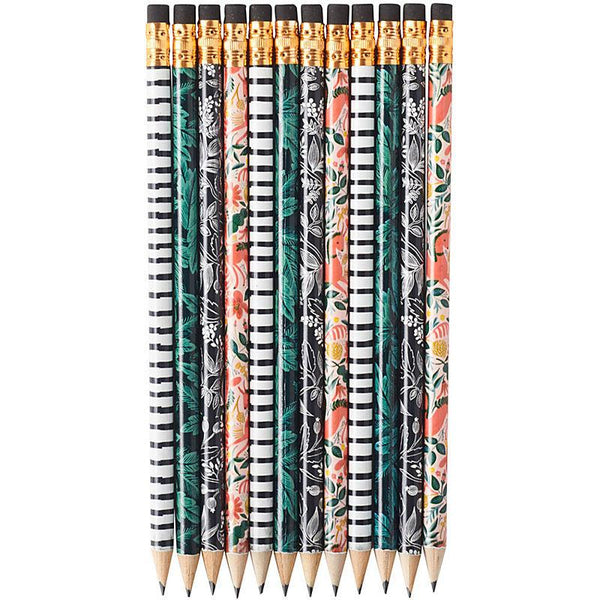 Folk Pencil Set by Rifle Paper Co