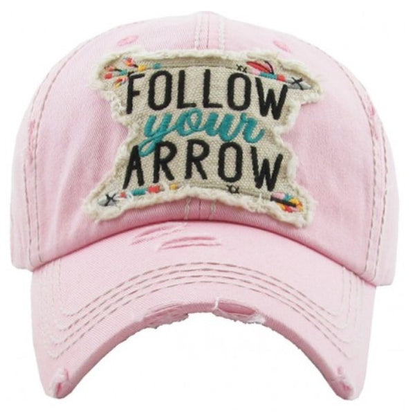 "Patch Cap ""Follow Your Arrow"""