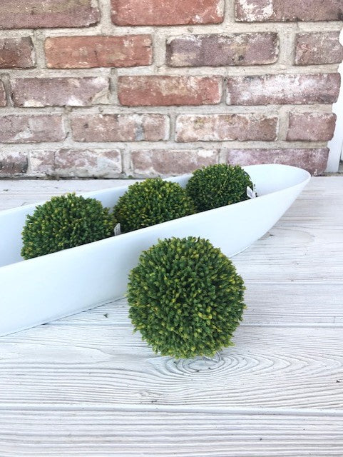 "Boxwood Green Orbs 4"" 582032"