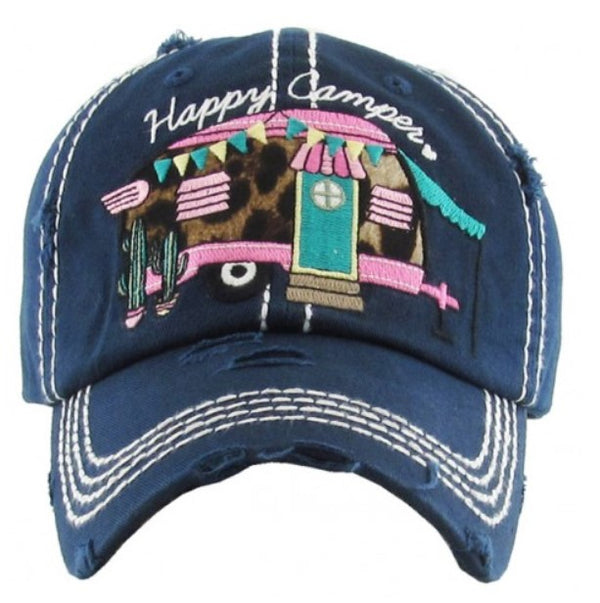 "Patch Cap ""Happy Campers"" Navy"