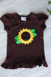 Sunflower Girl's Shirt or Onesie