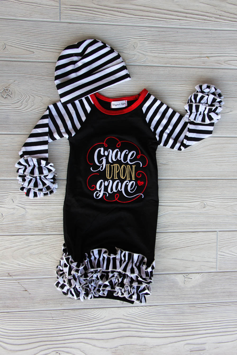 Grace Upon Grace Newborn Gown
