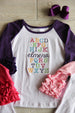 ABC's Ruffled Tee - Alphabet Shirt