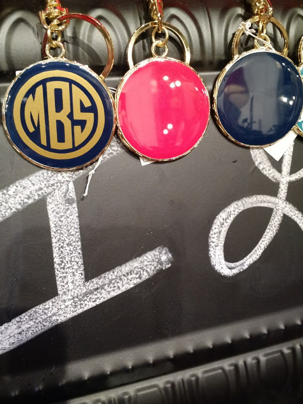 Monogram Key Chain by Mainstreet Collection