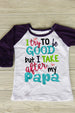 Papa's Little Girl Shirt Darling Custom Designs