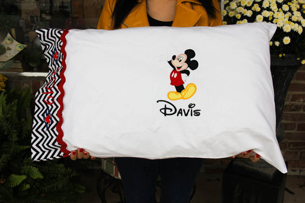 Boy's Disney Autograph Pillowcase Darling Custom Designs