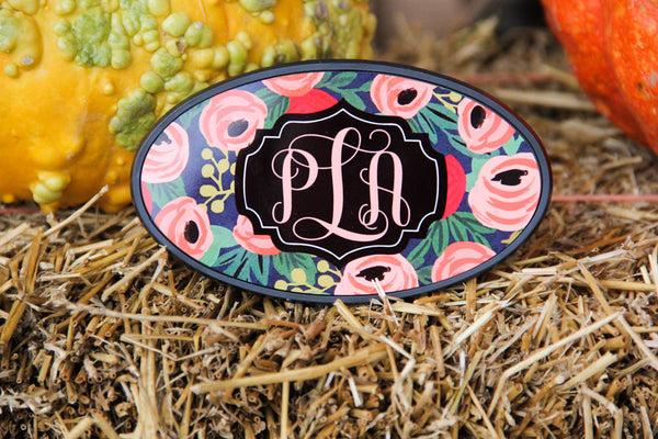 Monogrammed Hitch Cover