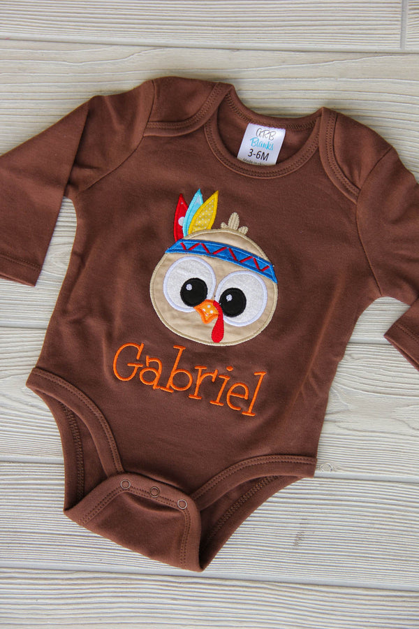 Personalized Thanksgiving Outfit