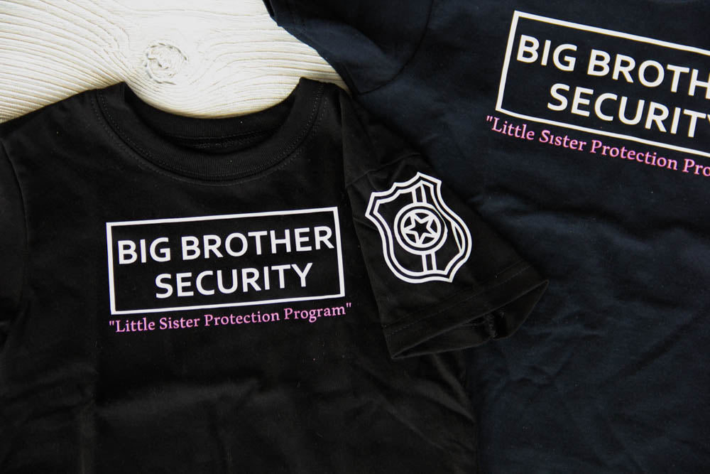 Big Brother Security Shirt Darling Custom Designs
