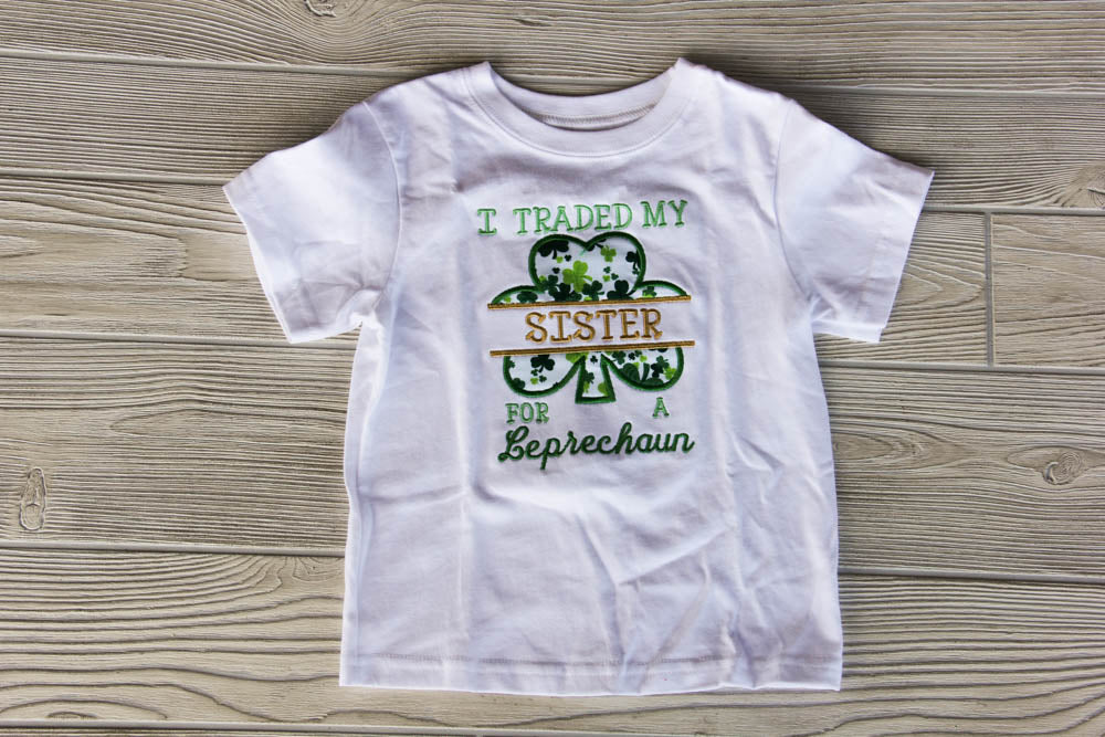 St. Patrick's Day Sibling Shirt