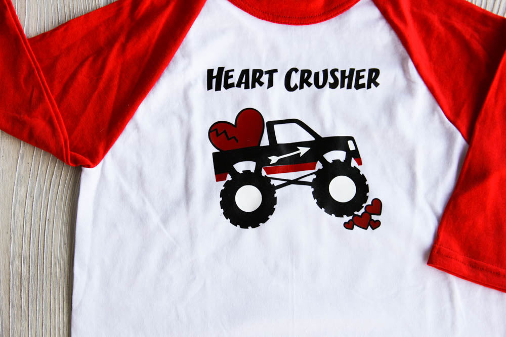 Boy's Heart Crusher Valentine Shirt