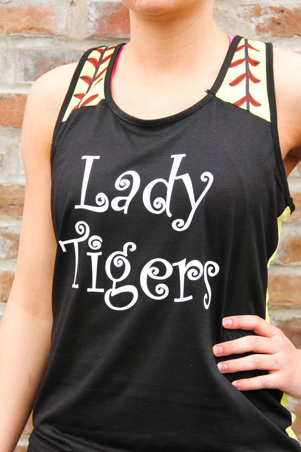 Lady Tigers Softball Tank-Top
