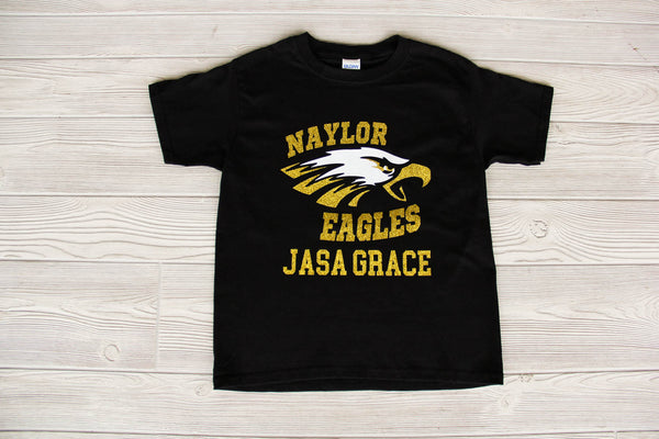 Naylor Eagles Glitter Tee