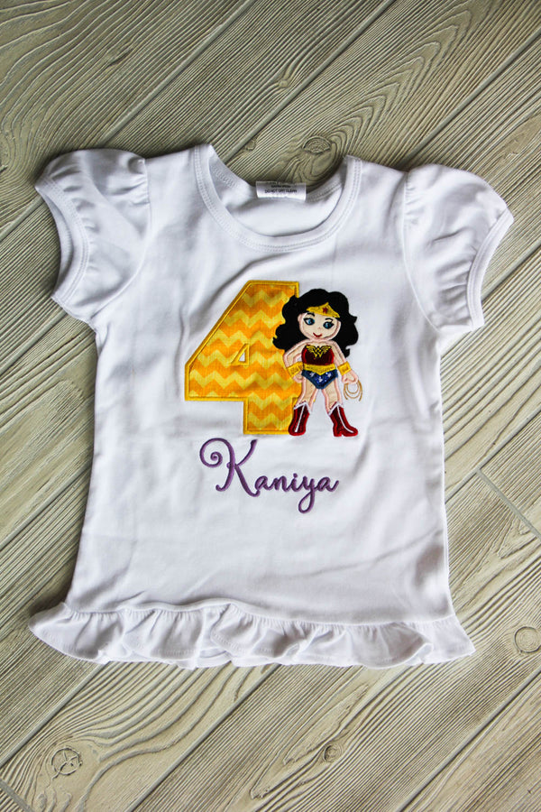 Wonder Woman Birthday Shirt