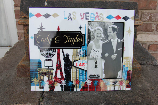 Las Vegas Picture Frame Darling Custom Designs
