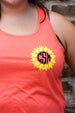 Sunflower Tank w/ Monogram Darling Custom Designs