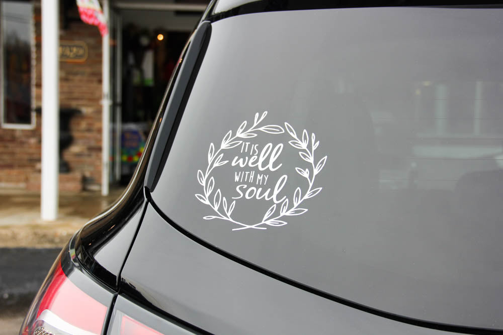 It is Well with my Soul Call Decal